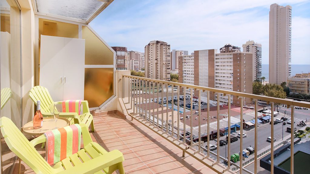 Studio with Balcony | Holidays Apartments Benidorm | My ...