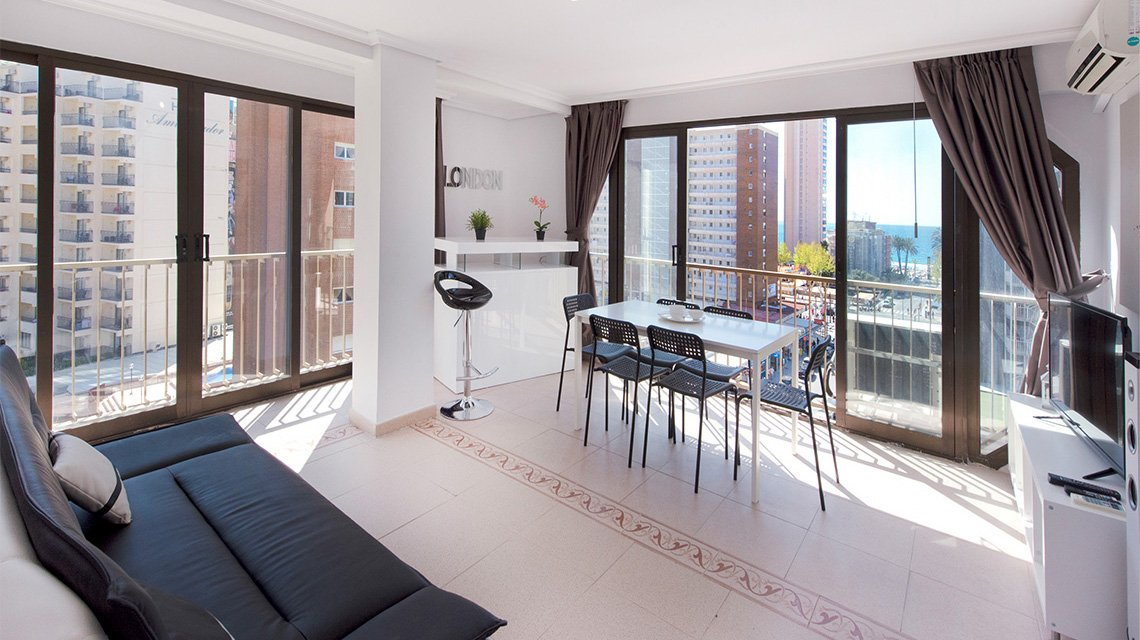 apartment 7a my pretty payma holiday apartments for rent in benidorm